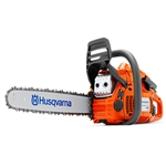 "Husqvarna 450E II 18"", .325 Pitch, .050 Ga. 50.2Cc Chainsaw, Single Pre-Pack"