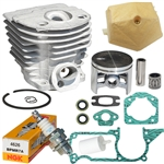 Hyway Husqvarna 55, 51 cylinder kit 46mm - Closed port Rebuild Kit