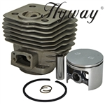 Husqvarna 288 cylinder and piston assembly