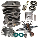Stihl 029, MS290 overhaul kit with crankshaft