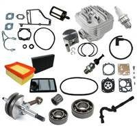 Stihl TS400 Nikasil overhaul kit with crankshaft