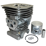 Husqvarna 455 cylinder and piston assembly