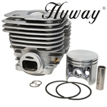 Husqvarna / Partner K950 cylinder and piston assembly