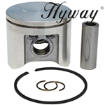 Husqvarna 359 piston and rings assembly 47mm