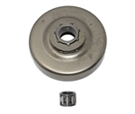 "Sprocket rim, drum & bearing 3/8"" fits Stihl 044, 046, MS440, MS460"