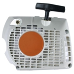 Stihl MS341, MS361 starter recoil assembly