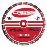"Cross Performance 14"" Premium Turbo Diamond Saw Blade"