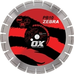 "OX-PB10 14"" Professional abrasive diamond saw blade"