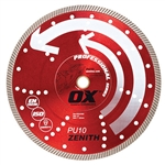 "OX-PU10 12"" Professional superfast (universial) diamond saw blade"