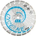 "OX-UC10 14"" laser welded ultimate diamond saw blade general use"
