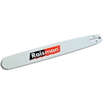 "18"" Raisman Hard Nose guide bar for Dolmar, Husqvarna, Medium - 1.33"" pitch, .058"" Gauge"