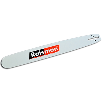 "20"" Raisman Hard Nose guide bar for Dolmar, Husqvarna, Medium - 1.33"" pitch, .058"" Gauge"