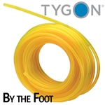 "Tygon fuel line (clear yellow) 1/8"" ID X 1/4"" OD - by the foot"