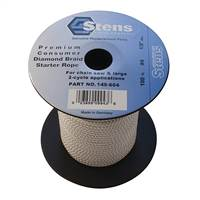 Stens 100' Starter Rope #4 Diamond Braid