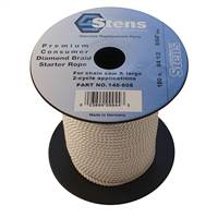 Stens 100' Starter Rope #4 1/2 Diamond Braid