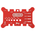 Oregon Bar and Chain Measuring Tool