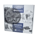 OEM Husqvarna Automower 430X-450X Rear Wheel Kit W/ Brushes