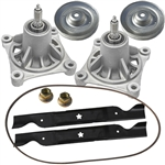 "OEM Husqvarna 46"" Deck Rebuild Kit with pulleys"