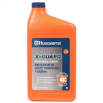 OEM Husqvarna X-Guard Bar & Chain Oil - 1 Qt