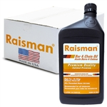 Raisman Premium Bar & Chain Oil SAE 30, 1 Case (12 x 1 liter)