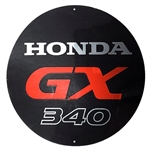 OEM Honda GX340 Starter Cover Decal