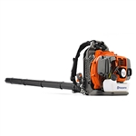 Husqvarna 350BT 50 Cc Tube Throttle Backpack Blower, 494 Cfm/180 Mph, 22.5 Lbs.