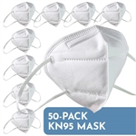KN95 Disposable Face Mask 50-Pack