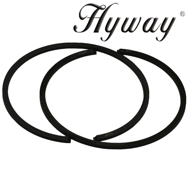 Hyway piston rings 50mm fits Stihl 044, MS440, MS441
