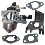 Honda GX200 6.5hp carburetor with gaskets