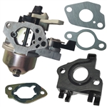 Honda GX240 8hp carburetor with gaskets
