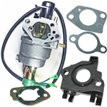 Honda GX390 13hp generator carburetor with solenoid with gaskets