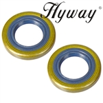 Husqvarna oil seals fits 51, 55, 254, 257, 262, 357, 359