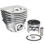Husqvarna chainsaw parts for 55 & 51 cylinder and piston assembly