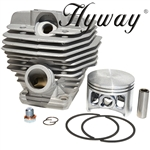 Stihl chainsaw cylinder kit for Stihl 066 MS660 Nikasil assembly 54mm