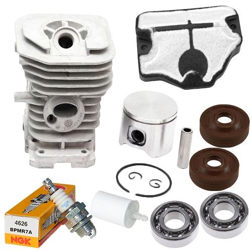 Husqvarna 136, 137, 141, 142 cylinder kit 40mm Rebuild Kit