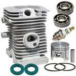 Stihl 018, MS180 cylinder assembly + overhaul kit 38mm