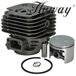 Husqvarna 272 272XP 272K cylinder and piston assembly