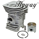 Hyway Husqvarna chainsaw 340 cylinder assembly
