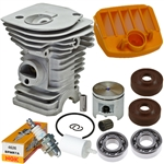 Hyway Husqvarna 340 Nikasil plated cylinder kit 40mm Rebuild Kit