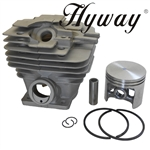 Hyway Stihl chain saw cylinder kit for Stihl MS361 cylinder and piston