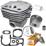 Hyway Husqvarna 362, 365 Nikasil plated cylinder kit 48mm Rebuild Kit