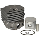 Husqvarna 371, 372 cylinder and piston assembly