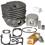 Husqvarna 371, 372 cylinder kit 50mm Rebuild Kit*