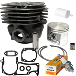 Hyway Husqvarna 371, 372 Nikasil plated cylinder kit 50mm Rebuild Kit*