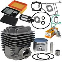 Stihl TS400 Nikasil plated overhaul kit