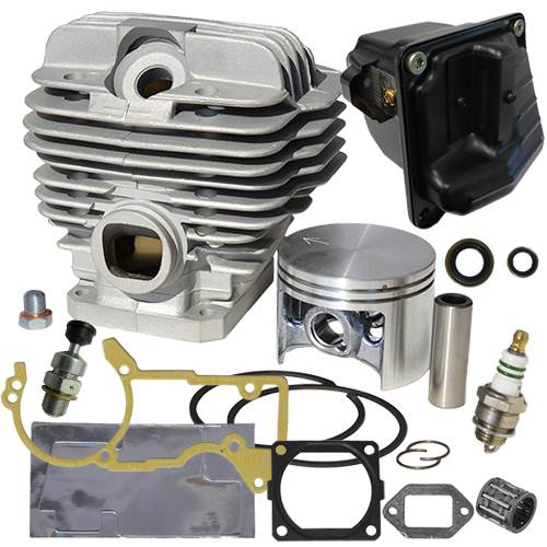 Stihl chainsaw cylinder kit for Stihl 044 MS440 big bore overhaul kit 52mm