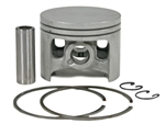Husqvarna 181, 281 piston assembly (double ring) 52mm