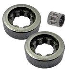 Bearings set fits Stihl 020T, MS200T