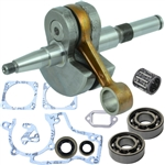 Stihl 038, MS380, MS381 crankshaft with bearings, gaskets and seals