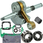 Stihl 044, MS440 crankshaft replaces 1128-030-0406 with bearings, gaskets and seals